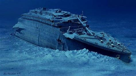 Where Did The Titanic Sink Exactly by Titanic Journey To The Bottom Of The Ocean Bbc News