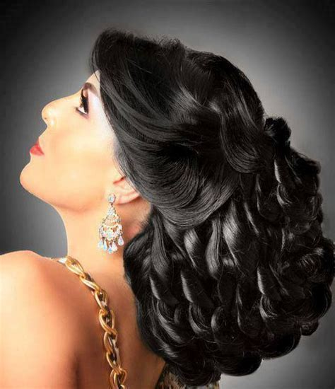 arabic hairstyles weddings wedding ideas bridal hairdos