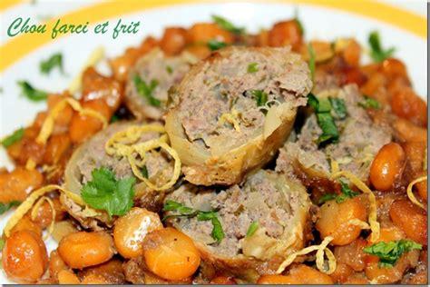 houriat el matbakh recette de chou farci et frit les joyaux de sherazade