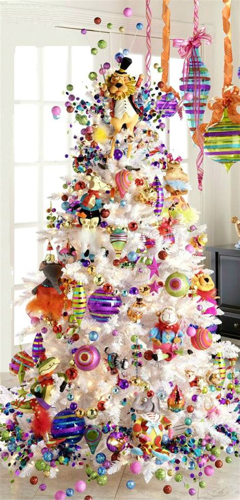 coloured lights christmas tree beautiful collection of gorgeous white christmas trees