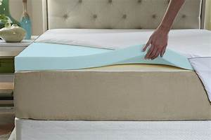 best 3 inch thick memory foam mattress toppers with With best mattress pad for memory foam bed