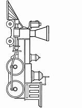 Coloring Pages Train Caboose sketch template