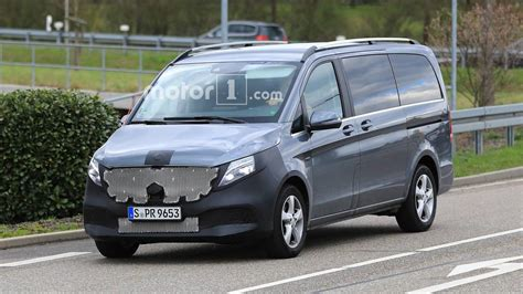 Mercedes V Class Photo by Photos Espion La Mercedes Classe V Restyl 233 E En