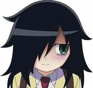 Shy Tomoko | WataMote / It's Not My Fault That I'm Not ...  Watamote