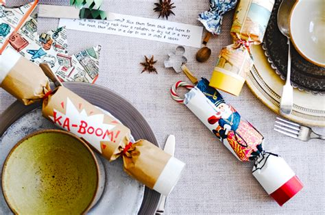 how to make homemade christmas crackers jamie oliver