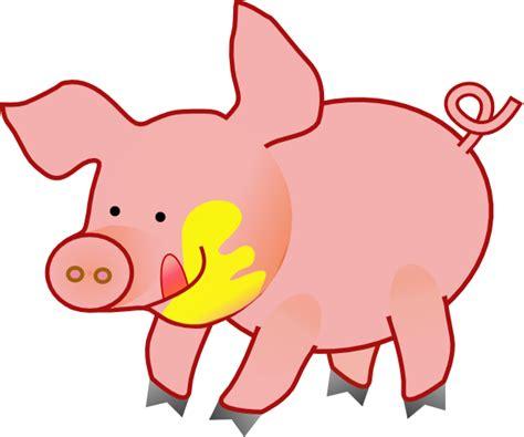Happy Pig Clip Art At Clker.com