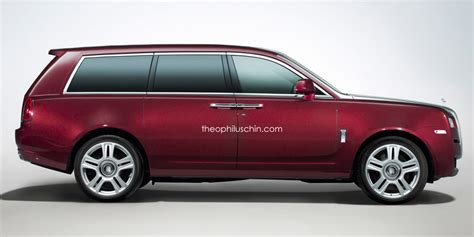 Rolls Royce Suv Rendered Upright And Purposeful