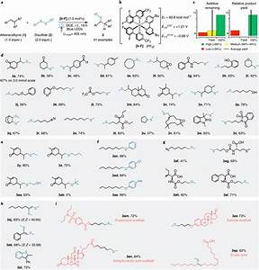 Scope Of The Disulfide U2013ene Hydrothiolation Of Alkenes And Alkynes A