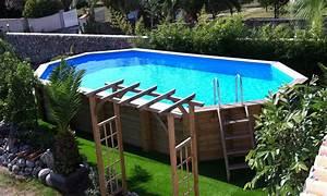 piscine hors sol accueil design et mobilier With deco piscine hors sol