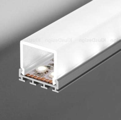 Profil Led Gip Anodized Aluminum Lens Cover Stair