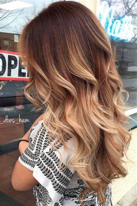 Brown And Ombre Hair by Best 25 Brown Ombre Hair Ideas Only On Ombre