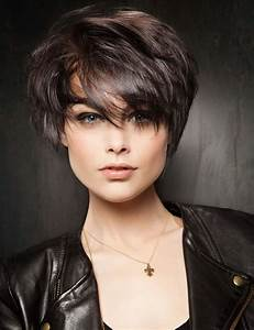 Coupe Courte De Cheveux Femme : coupe courte glamour femme julypaulaviola blog ~ Dallasstarsshop.com Idées de Décoration