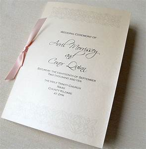 unique wedding invitations ceremony booklet With wedding invitations and mass booklets