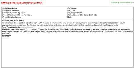 casual mail handler cover letters