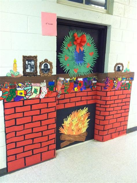 decorated door contest at 21st century community learning