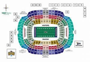 M U0026t Bank Stadium Diagrams