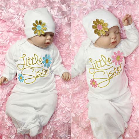 Baby Girl Boys Floral Clothes Newborn Baby Long Sleeve Romper Cotton Warm Outfit Baby Girl Gift ...