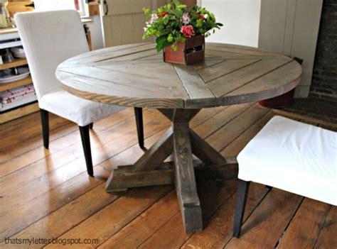 circle farmhouse table diy x base circular dining table jaime costiglio 2210