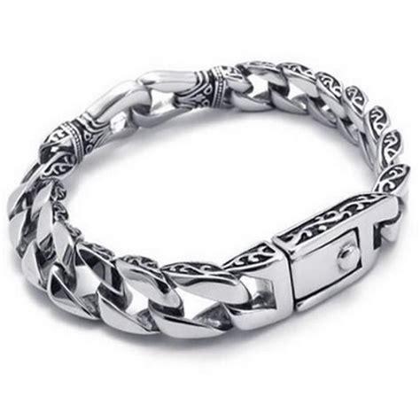 Gelang Rantai Geometris Perak gelang emas pria panduan membeli gelang emas di toko