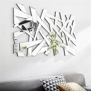 Miroir Mural Design Grande Taille : miroir design industriel miroir mural sur pied au meilleur prix leroy merlin ~ Teatrodelosmanantiales.com Idées de Décoration