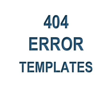 custom 404 page template free os templates free custom page templates
