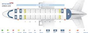 Seat map Airbus A318-1...