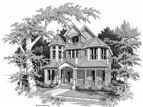 Queen Anne Victorian House Plan