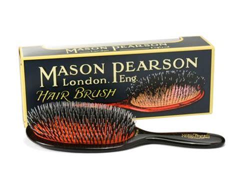 mason pearson black popular bristle nylon brush