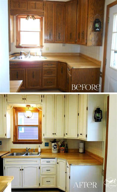 kitchen cabinet redo kitchen b a the big reveal allender dot 2708