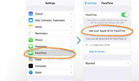 how to set up school email on iphone apple canada ios 7 facetime