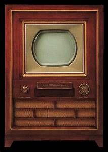 First Color Television  Rca Model Ct