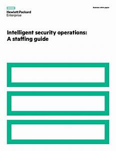 Intelligent security operations a staffing guide