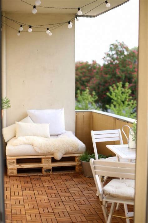 mini balkon gestalten