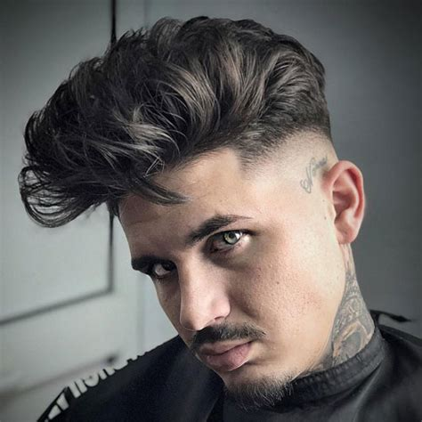 style  modern pompadour  mens haircuts
