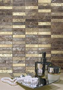 Mosaique Pour Salle De Bain : mosa que barettes pour murs cuisine ou salle de bains ~ Premium-room.com Idées de Décoration