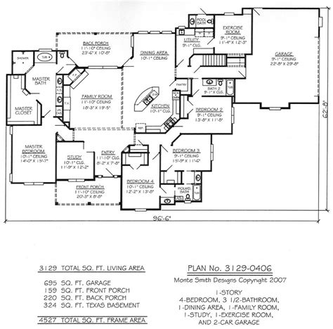 single story 4 bedroom house plans one story four bedroom house plans story 4 bedroom 3 5