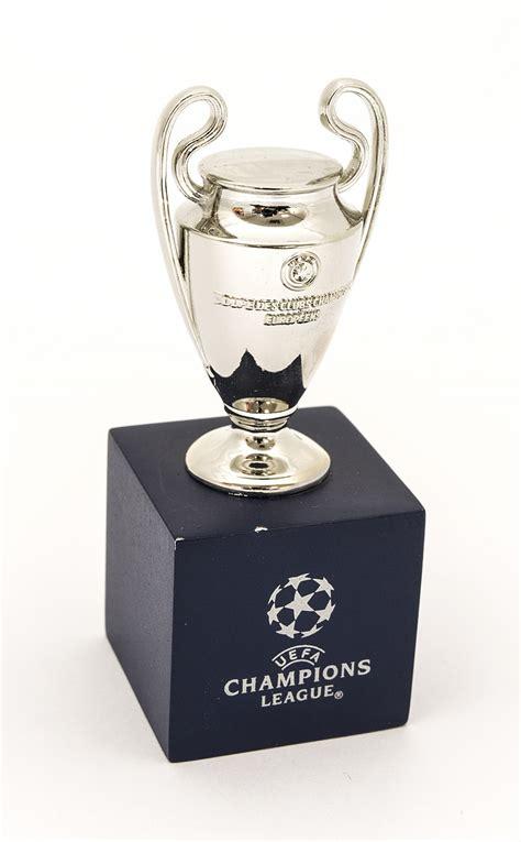 uefa champions league mini replica trophy national