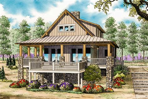 Low Country Cottage House Plan 59964ND Architectural