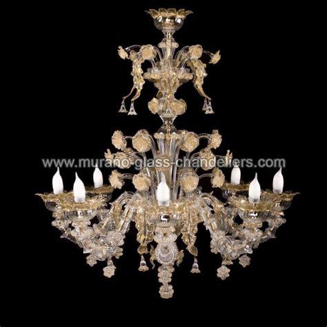 quot quot lustre en cristal de murano murano glass chandeliers