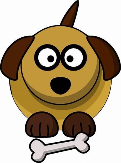 Dog Cartoon Clip Pet Clker Looking Clipart