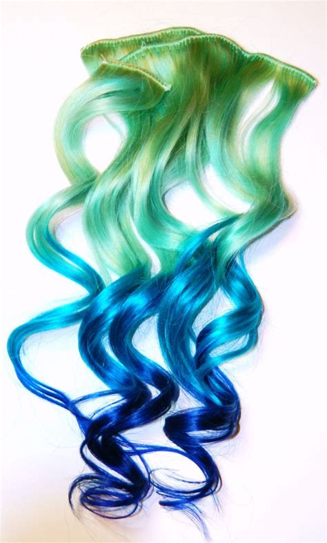 63 Best Mermaid Ombre Hair Images On Pinterest Ombre