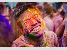2018 FOG Holi Color Festival Massive Color Fight