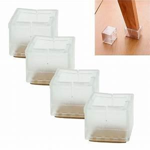 Aliexpresscom buy high quality 4pcs square chair leg for Furniture leg pads lowes