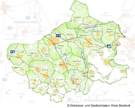 Ewe Breitbandausbau Karte
