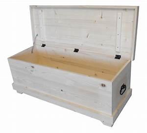 Banc Coffre A Jouet : coffre a jouet banc nice coffre en bois brut mzaol ~ Teatrodelosmanantiales.com Idées de Décoration