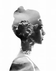 Double Exposure Portraits by Aneta Ivanova | The DNA Life