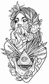 Tattoo Makeup Artist Tattoos Coloring Views4yu Ru sketch template