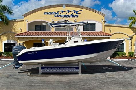 Pre Owned Edgewater Boats For Sale by Used 2004 Edgewater 265 Center Console Boat For Sale In