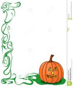 Halloween Ghost Clip Art Border