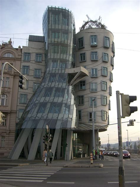 dancing house data  plans wikiarquitectura